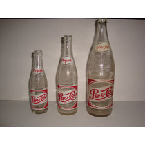 Botellas Antiguas De Pepsi-cola
