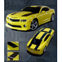 Franja Sticker Vinil Bumble Bee Camaro 2010-12 Transformer 3