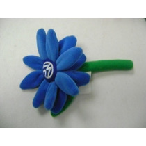 Vw Beetle Flor Tablero Azul