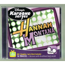 Hannah Montana Karaoke Series Cd Nacional Unica Ed 2007 Idd