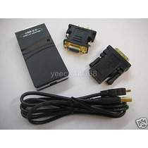 Convertidor Imagen Video Para Pc De Usb A Dvi O Vga O Hdmi
