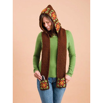 Gorro Y Bufanda En Una Sola Pieza Crochet