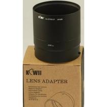 Adaptador P/ Poner Lentes A Nikon Coolpix P510 Y Gran Angula