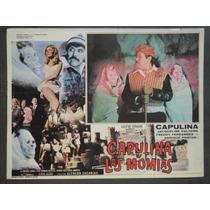 Capulina Vs Las Momias Jaqcueline Voltaire Cartel De Cine