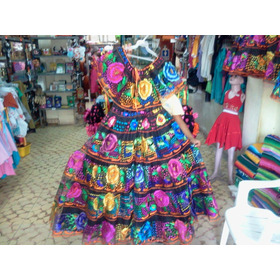 Vestido De Chiapaneca Juvenil