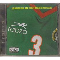 Rapza - Volumen 3 ( Compilado Hip Hop Rap Mexicano ) Cd Rock