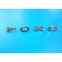 Emblema Ford Ltd Cofre Y Cajuela Juego De Letra