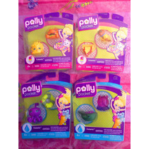 Polly Pocket Set De Mascotas Varias