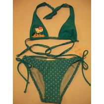 Traje De Baño Bikini Para Niña Hello Kitty 6 Años