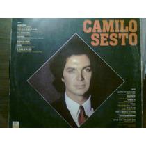Disco Acetato De Los 15 Grandes Exitos De Camilo Sesto