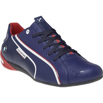 Tenis Puma Nyter Bmw Motorsport Racing Team Choclo Azul Maa