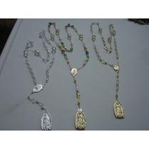 Rosarios De Virgen De Guadalupe Tipo Cristal Variedad Colore