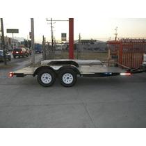 Remolque Plataforma Cama Baja Camioneta Camion Cuatrimoto