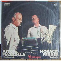 Tango, Astor Piazzolla Y Horacio Ferrer(en Persona)lp12´,css