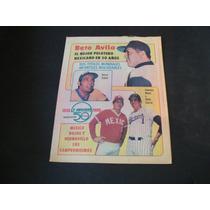 Beto Avila Mejor Pelotero Peridico La Aficion 1980 Baseball