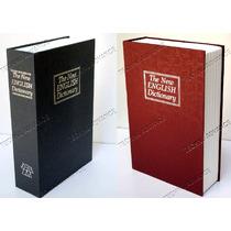 Caja Fuerte De Seguridad Camuflada Libro, Interior Acero Nvd