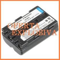Bateria Recargable Np-fm500h P/ Camara Sony Alpha Dslr-a300