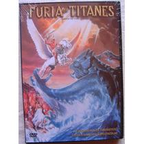 Furia De Titanes / Harry Hamlin Burguess Meredith Dvd Usado