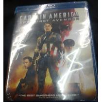Capitan America El Primer Vengador ( Bluray ) Nuevo