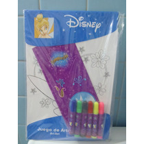 Disney Juego De Arte De Campanita Hojas Para Colorear Nvb