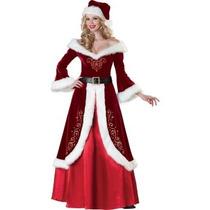 Disfraz / Disfraces De Sra. Claus De Navidad, Envio Gratis