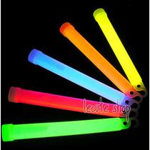 10 Barras Luminosas Neon Glow Cyalume Fiesta Rave Batucada