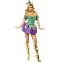 Disfraz De Mardi Gras, Arlequin Para Damas, Envio Gratis