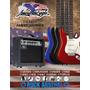 Paquete De Guitarra American Eagle Completo Nuevo Op4