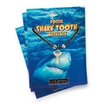 Collar De Dientes De Tiburón (cuerdas Color Puede Variar)