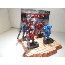 Mega Bloks Halo Edicion Limitada Versus: Battle Pack 4pcs
