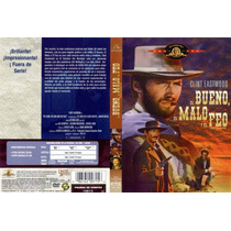 Dvd Clasica Oeste Vaqueros El Bueno, El Malo Y El Feo Clint
