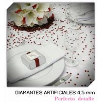 4000 Diamantes Artificiales De 4.5 Mm Con Envio