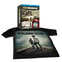The Walking Dead Temporadas 1 A 3 Con Camiseta Conmemorativa
