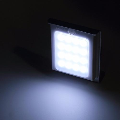 Lampara solar 16 leds sensor de luz y movimiento 200 - Sensor de luz precio ...