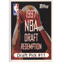 1997-98 Topps Draft Redemption Pick 11