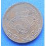 Moneda 5 Centavos Aguascalientes 1914 Revolucion Cobre