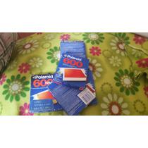 5 Paquetes De Pelicula Instantanea Polaroid 600