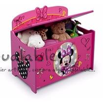 Caja Para Organizar Las Cosas De Niños De Minnie