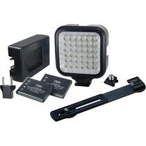 Lámpara De 36 Leds Para Foto Y Video Batería Recargable