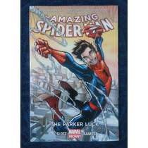 The Amazing Spiderman # 1 Parker Luck (tpb, Con Dvd Macross)