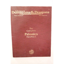 Libro Dungeons & Dragons The Complete Psionisc Handboook Tsr