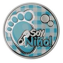 Hermoso Recuerdo Para Baby Shower O Bautizo. Soy Niño !!!