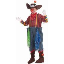 Disfraz De Payaso De Rodeo Para Niños, Envio Gratis