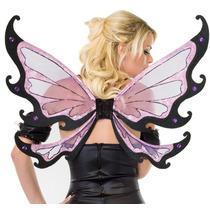 Leg Avenue Alas De Mariposa Modelo 2035 Color Negro / Rosa