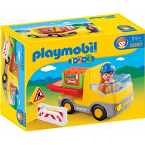 Playmobil 6960 Camion D Carga 1.2.3 Ciudad Bebes Retromex