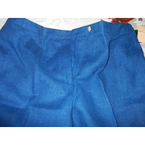 Pantalon,mujer,traje Sastre,azul,harve Benard,talla 14,$1000
