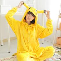 Pikachu Kigurumi Pijamas Kawaii Moda Japonesa Anime
