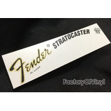 (*) Waterslide Decal Fender Stratocaster 70's