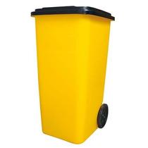 Contenedor De Plástico Para Basura De 120 L