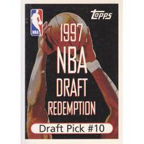 1997-98 Topps Draft Redemption Pi Pick 10